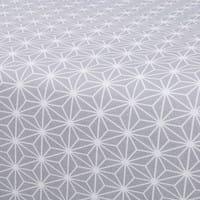 Housse de canapé BZ grise imprimé étoiles Elliot
