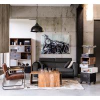 Industrial Bookcase Lenox