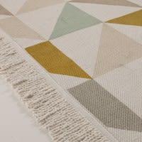 Katoenen tapijt met driehoekmotief, 120 x 180 cm Gaston