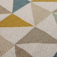 Katoenen tapijt met driehoekmotief, 60 x 100 cm Gaston