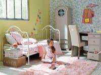 Kissen aus rosa Fellimitat 45x45 Oumka