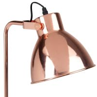 Lampadaire en métal cuivré H135