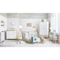 Two-tone Lamp with White Shade Moonlight