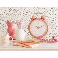 Mug gatto in maiolica rosa