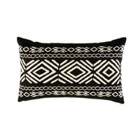Outdoor Cushion with Graphic Motifs 30x50