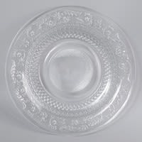 Piatto piano in vetro D 25 cm Classica