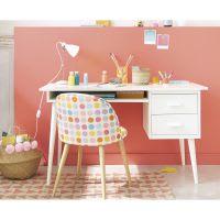 metal desk lamp in pink H 38cm Pix