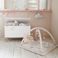 Plüschhase, rosa und weiß Apolline