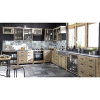 Recycled Pine Kitchen Glazed Base Unit Copenhague kitchen