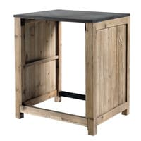 Recycled Pine Kitchen Unit for Dishwasher W 68 Copenhague kitchen