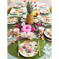 Set de table feuille verte 31 x 47 cm Bananier