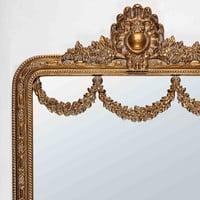 Specchio a modanature dorate 90x161 cm Imperatrice
