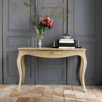Table console en manguier et acacia Colette