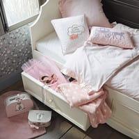 Tappeto rosa a pelo corto 70x70 cm
