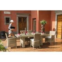Wicker garden chair St Raphaël