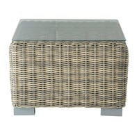 Wicker garden side table W 56cm St Raphaël