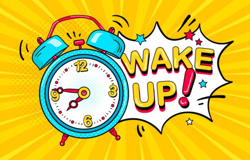Ébresztő, ideje felkelni! - borítókép