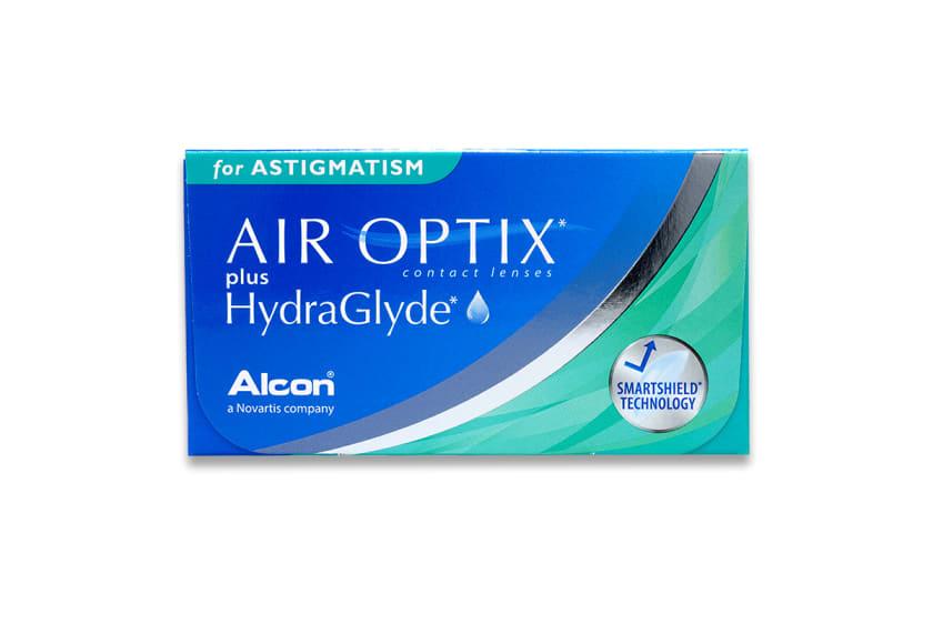 Air Optix plus HydraGlyde for Asti.