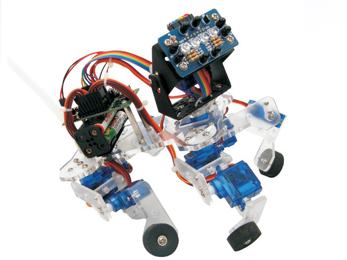 4 Insect Robot - Make: Arduino Bots and Gadgets Book