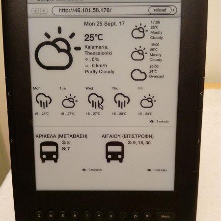The Kindle Dashboard