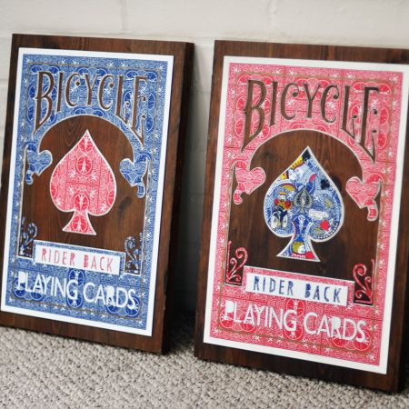 Bicycle Card Art using Bicycle Cards