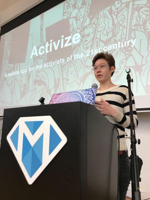 Alirie's presentation