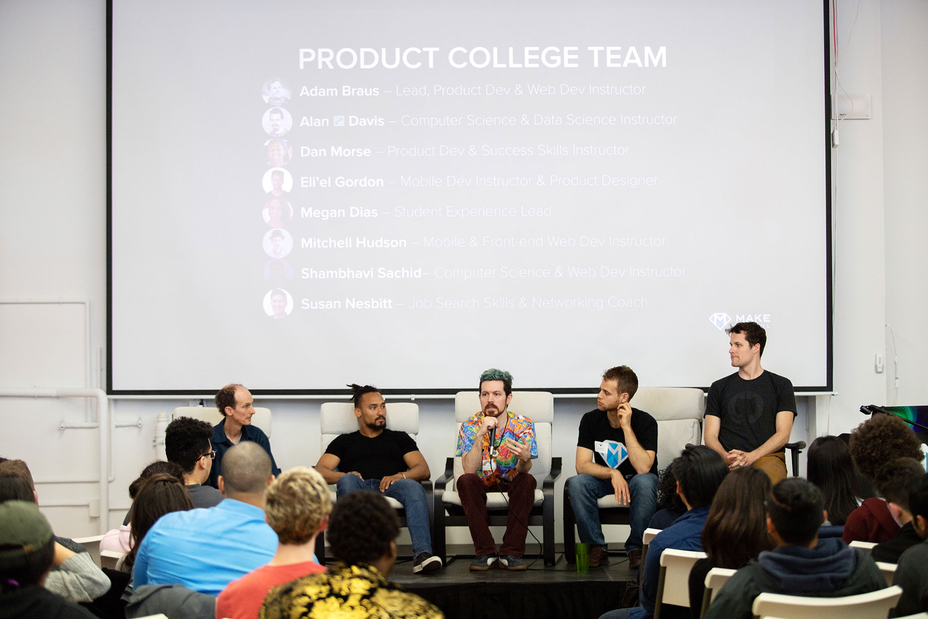 Instructor Panel at Preview Weekend