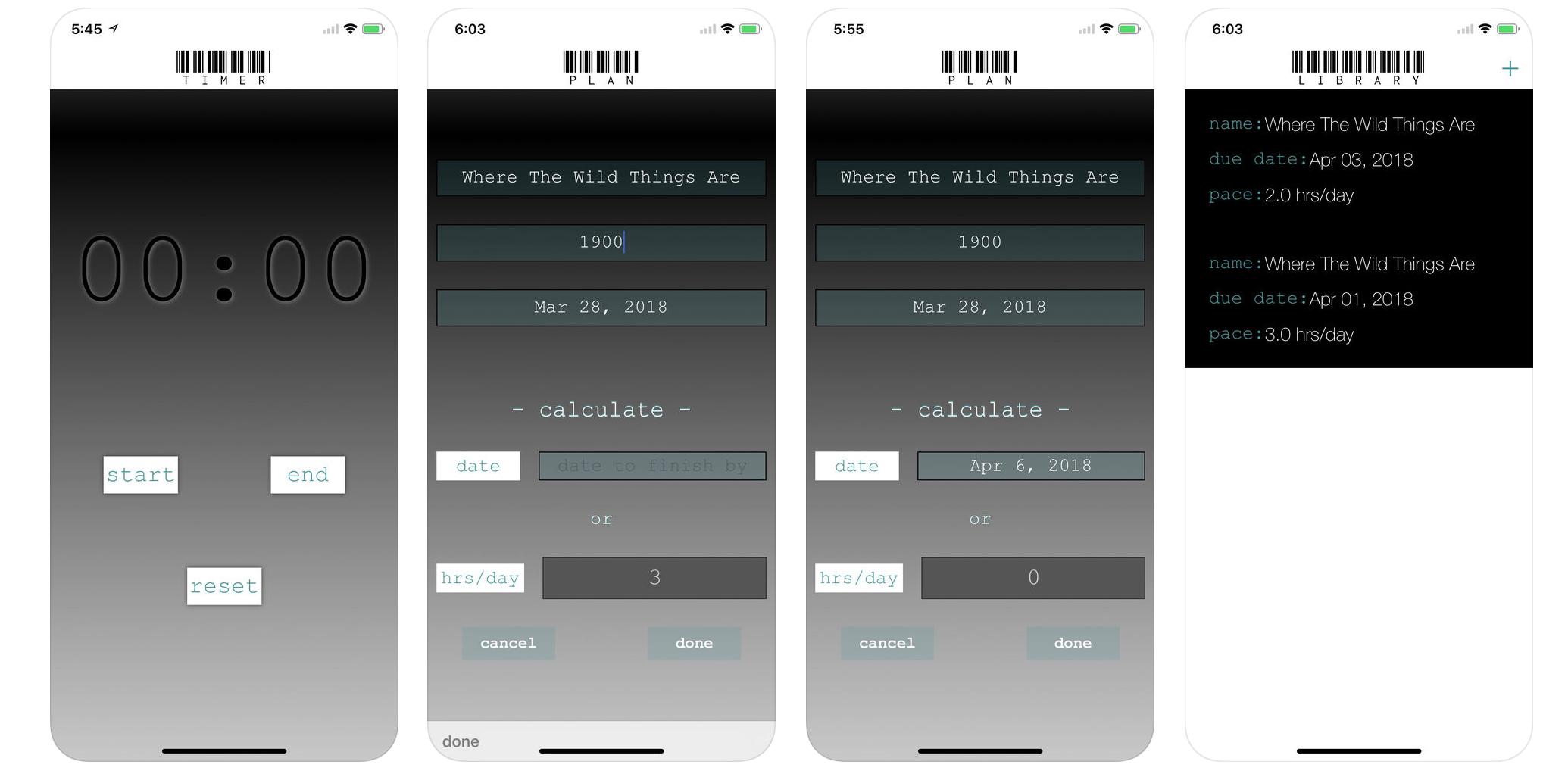 Page Planner Screenshot