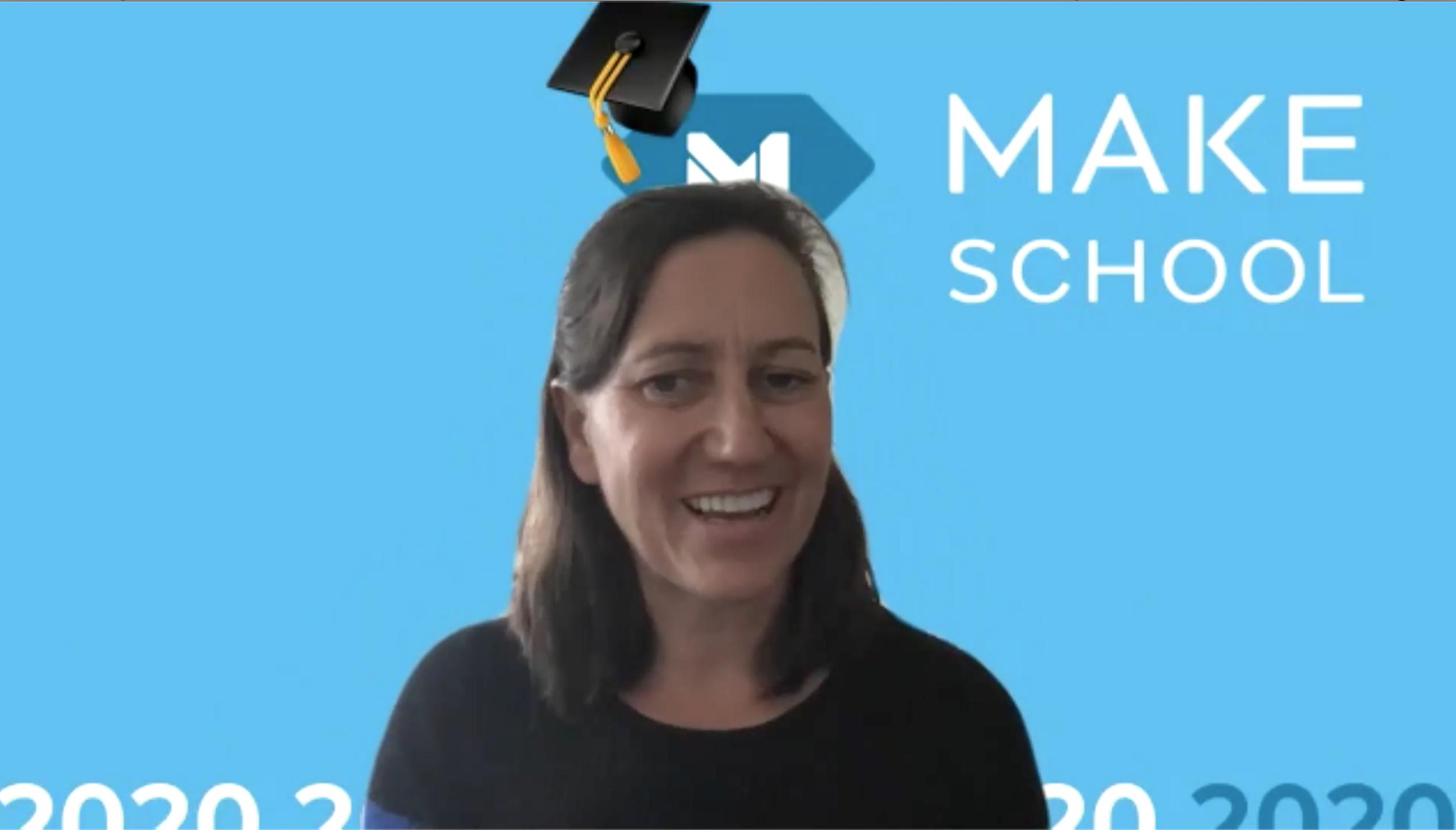 Dean of Make School, Dr. Anne Spalding