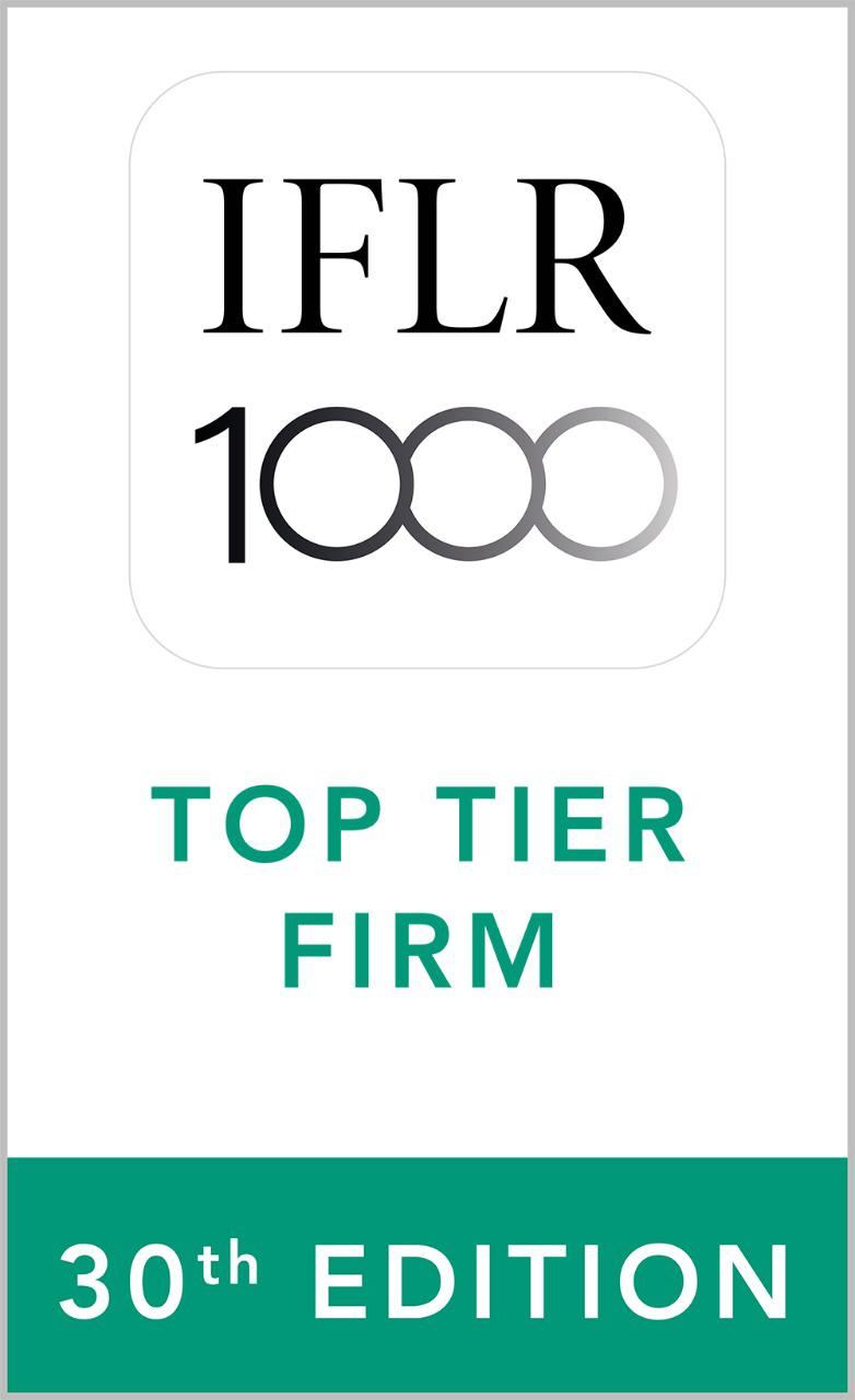 Top Tier Firm IFLR 30th Edition