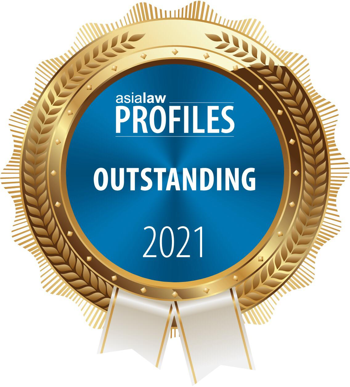 Asialaw Profile Outstanding Firm 2021