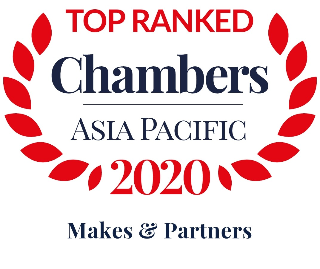 Chambers Top Ranked Asia Pacific