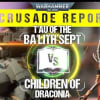 Crusade Report: T'au vs Genestealer Cult - Escape From Octavus