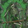 Mountain Path Giant Skeleton 30x50 Battle Map
