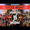 Adepta Sororitas vs Necrons 2000pts Battle Report
