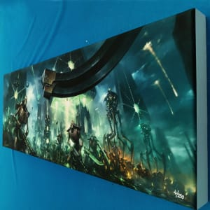 Necron Legions Canvas Print