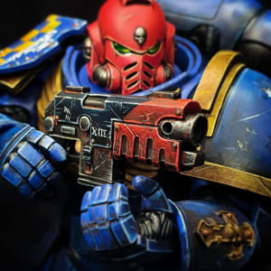 Primaris Sergeant Action Figure