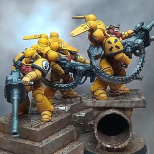 Imperial Fists Suppressors
