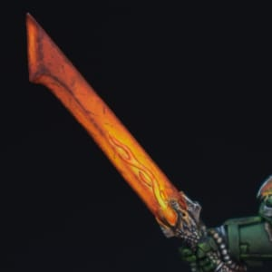Salamander Captain's Sword