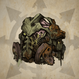 Animated Death Guard Helmet