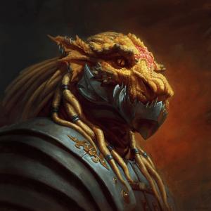 Ildrex Argenthrixus - Dragonborn Forge Cleric of Hephaestus