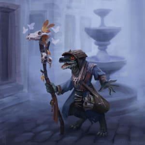 Aryx Blightscale, Kobold Druid