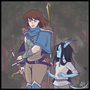 Ranger and Druid Dynamic Duo