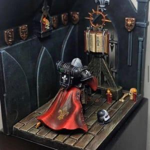 Adepta Sororitas Diorama