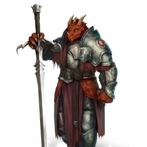Dragonborn Character Art