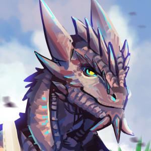 Shiny Looking Dragonborn by NotDax