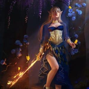 Eladrin Princess, Maewen