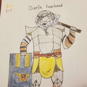 Captain Durin Frostbeard