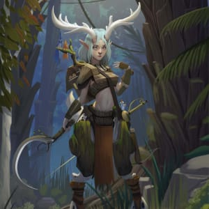 Vex, the Arcane Trickster Rogue Satyr
