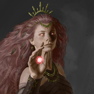 Agnis Crownsilver, Wildfire Druid
